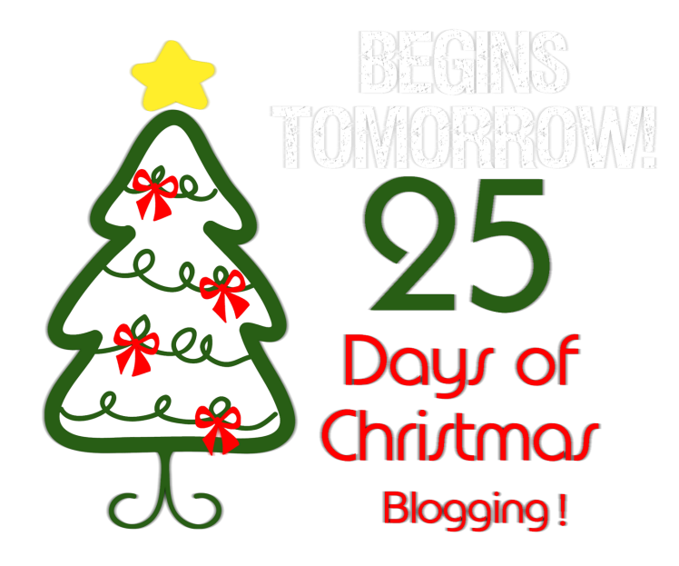 25 Days of Christmas Blogging