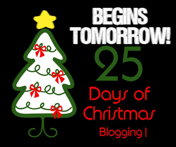 25 Days of Christmas Blogging