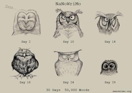 NaNoDays by Caffeine