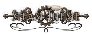 Steam Theme Logo Sepia