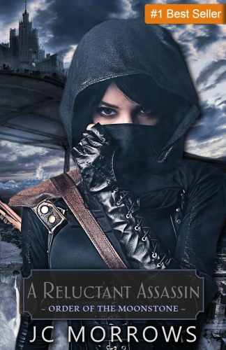 JC Morrows - A Reluctant Assassin with Best Seller Banner 2