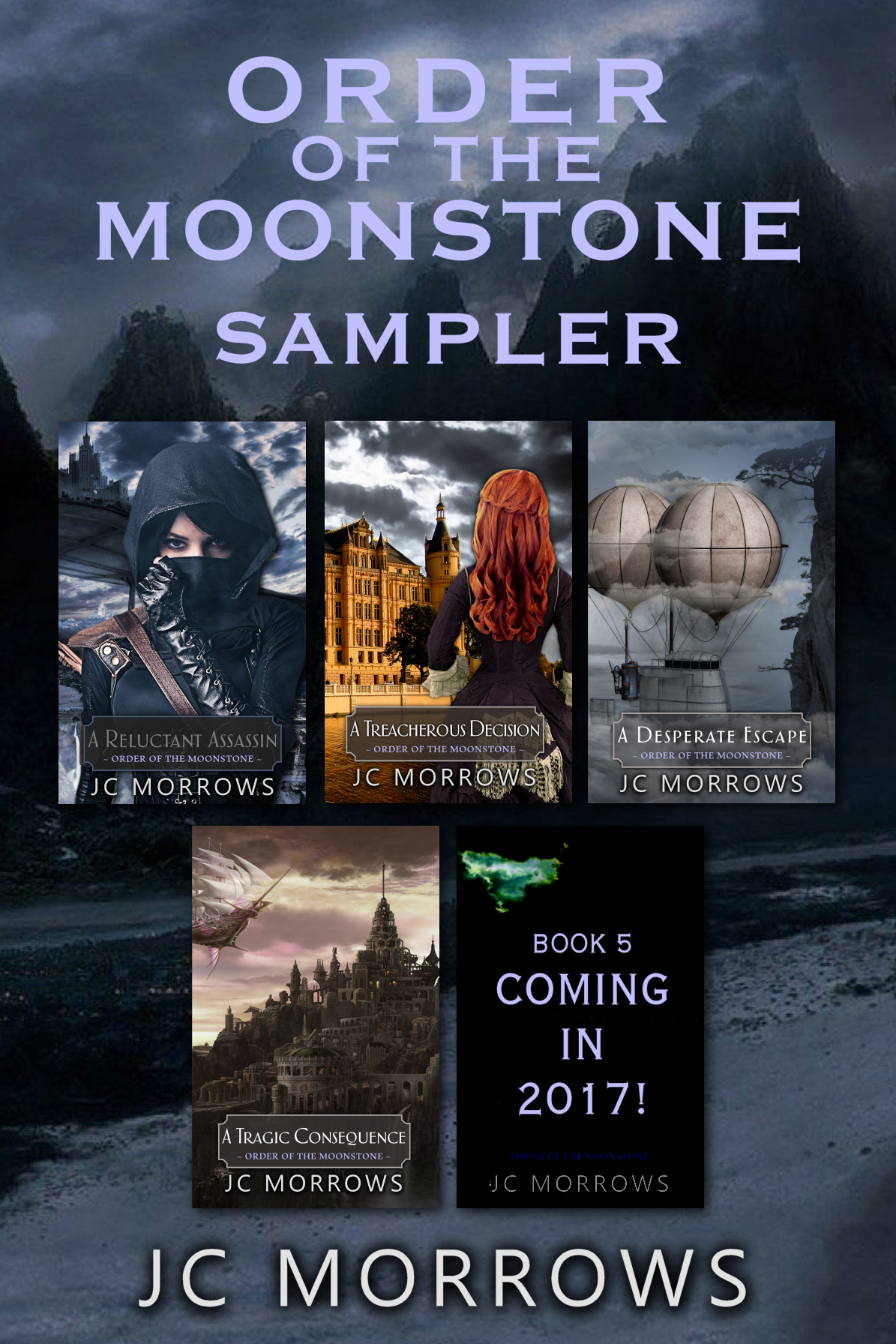 the Order of the MoonStone series Sampler